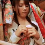 早乙女ルイ:洋服屋で露出セクロス!試着室からチ○ポ出てるってwww