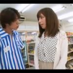 横山美雪:コンビニで万引きを注意したら店内で痴女られて露出セクロス!?