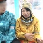 ゲレンデで見つけた武井咲似なお姉さんがマジックミラー号で寝取られセクロス!