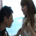 ハーフっぽい巨乳美人な中国人お姉さんがかなり恥じらいつつマジックミラー号で生ハメ中出しセックス!