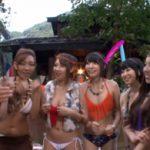 AIKA,友田彩也香,芹沢つむぎ:ファン感謝祭のバコバコバスツアーでBBQ場で青姦乱交