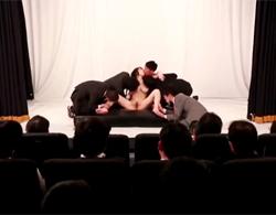 沖田杏梨:セクロス発表会でユーザー様飛び入り参加の連続ピストンな輪姦乱交!