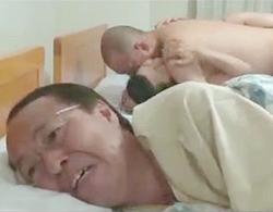 北原夏美:寝取られ趣味な旦那が用意した野性的な他人男に生ハメでやられちゃう巨乳熟女!