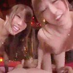 美雪ありす,並木優:スケベなお姉さん二人と3P乱交で枯れるまで搾り取られちゃうよん!!!