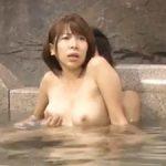 リアルちょいブスなガチ素人巨乳若妻が寝取られ願望な夫に騙され混浴風呂で3Pまでされちゃう!